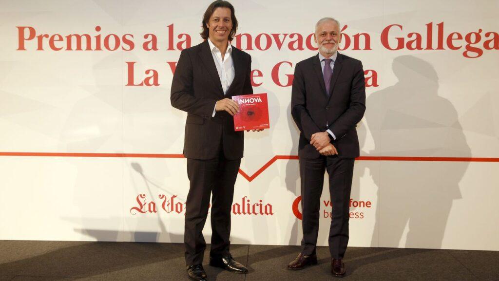 Premio á innovacion Gato Studio. Foto de Víctor Mejuto (LVG)